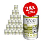 Wolf of Wilderness Adult Saver Pack 24 x 400g