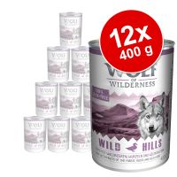 Wolf of Wilderness Adult 12 x 400 g