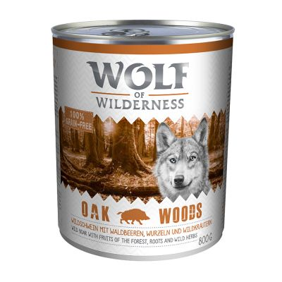 Wolf of Wilderness Adult 6 x 800 g