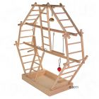 Wooden Ladder Playground, Large