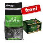 World's Best Cat Litter + Applaws Pouches Multipack Free!