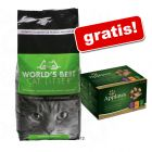 World's Best Cat podstielka + Applaws Selection zdarma!