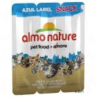 3 x 5 g Almo Nature Azul Label Snack Cat