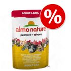 6 x 55 g Almo Nature Rouge Label