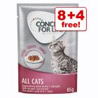 12 x 85g Concept for Life Wet Cat Food – 8 + 4 Free!*
