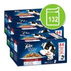 132 x 100g Felix As Good As It Looks Pouches in Jelly Mega Pack!*