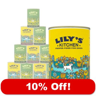 12 x 400g Lily's Kitchen Wet Dog Food Mixed Pack - 10% Off!*