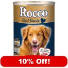 24 x 400g Rocco Real Hearts Wet Dog Food - 10% Off!*