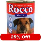 6 x 800g Rocco Wet Dog Food Mixed Trial Pack - 25% Off!*