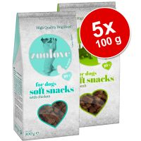 5 x 100 g Set zoolove Soft Snack