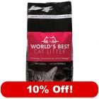 2 x 12.7kg World's Best Cat Litter - 10% Off!*