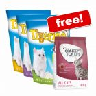 3 x 5l Tigerino Crystals + 400g Concept for Life Free!*