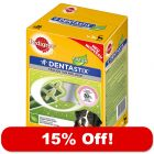 2 x 28 Pedigree Dentastix Fresh - 15% Off!*