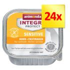 Zestaw Integra Protect Sensitive, 24 x 150 g