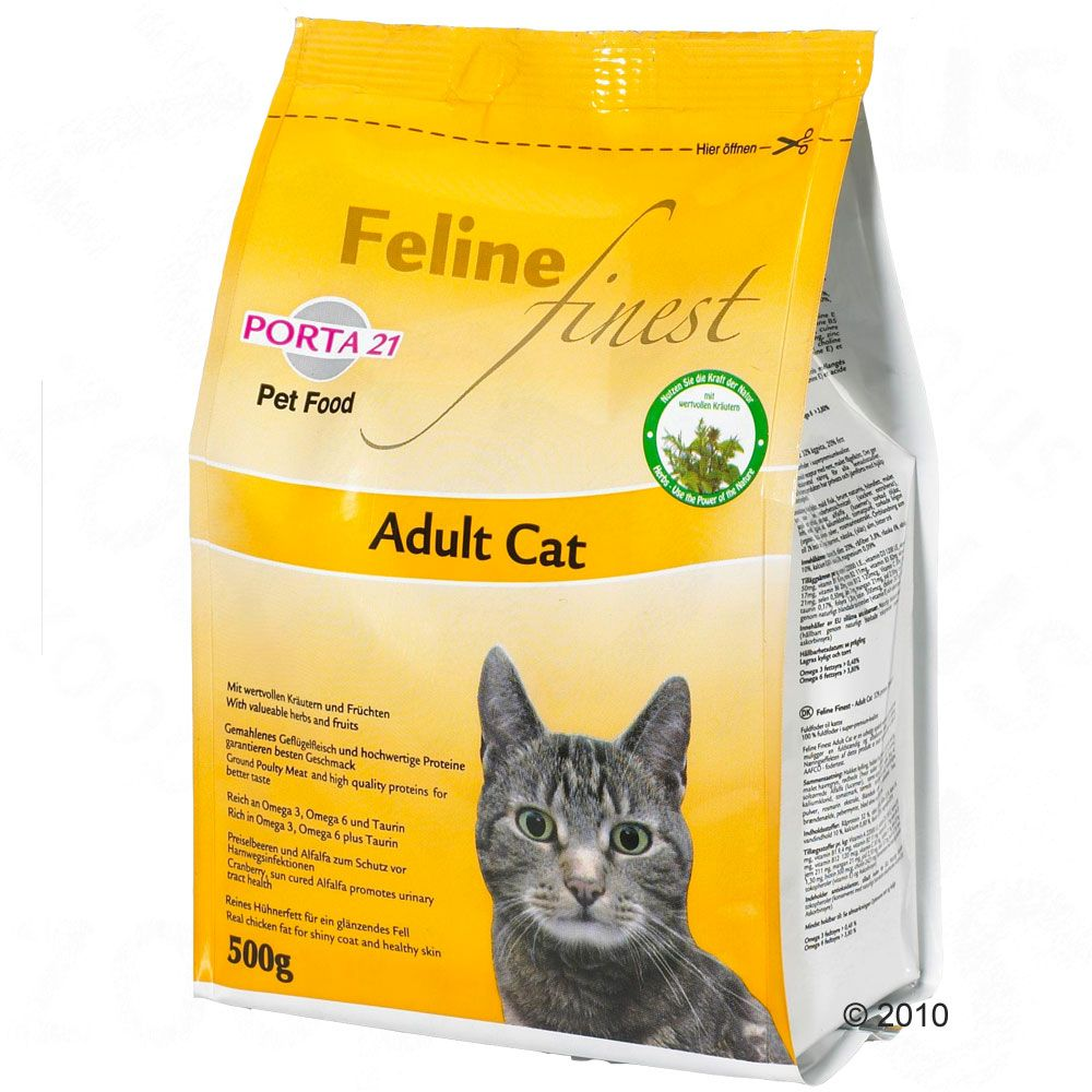 Porta 21 Feline Finest Adult Cat is a premium quality healthy and natural complete cat food