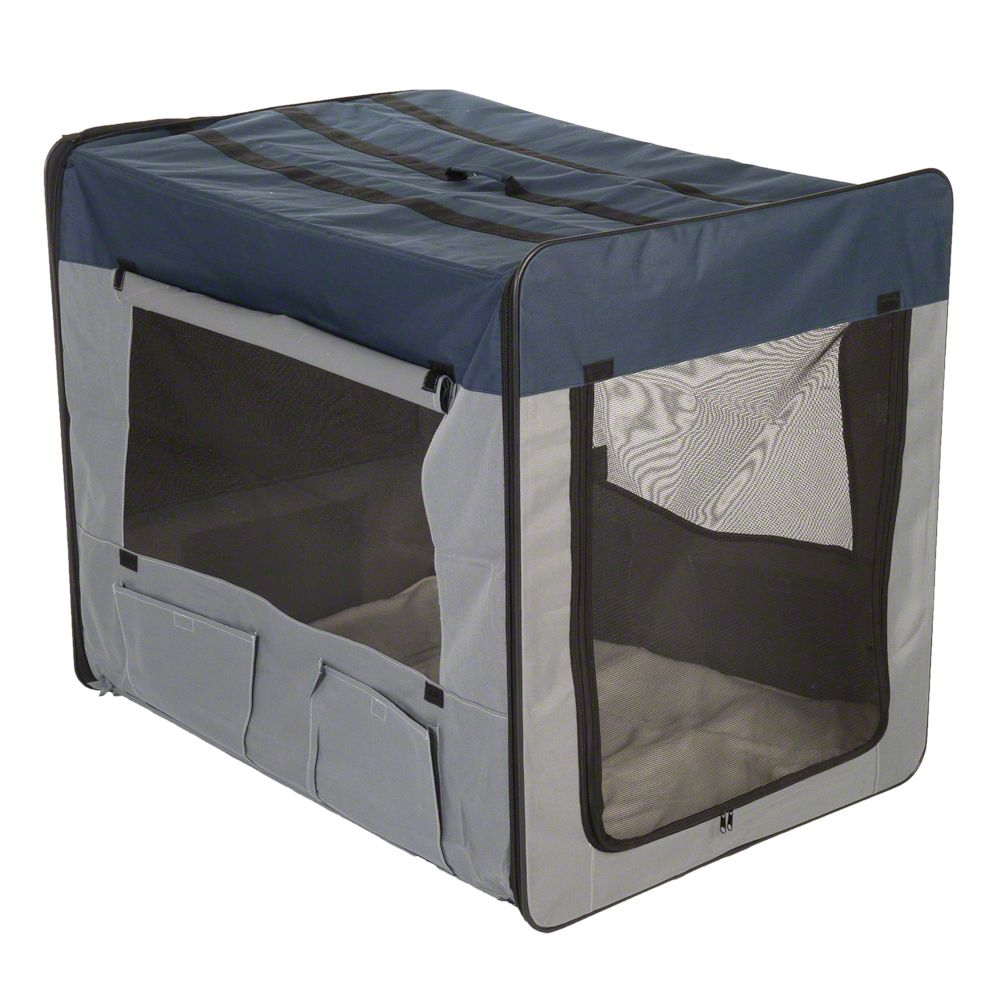 The Happy Journey Soft Pet Crate is a practical light pet crate which is suitable for dogs and cats