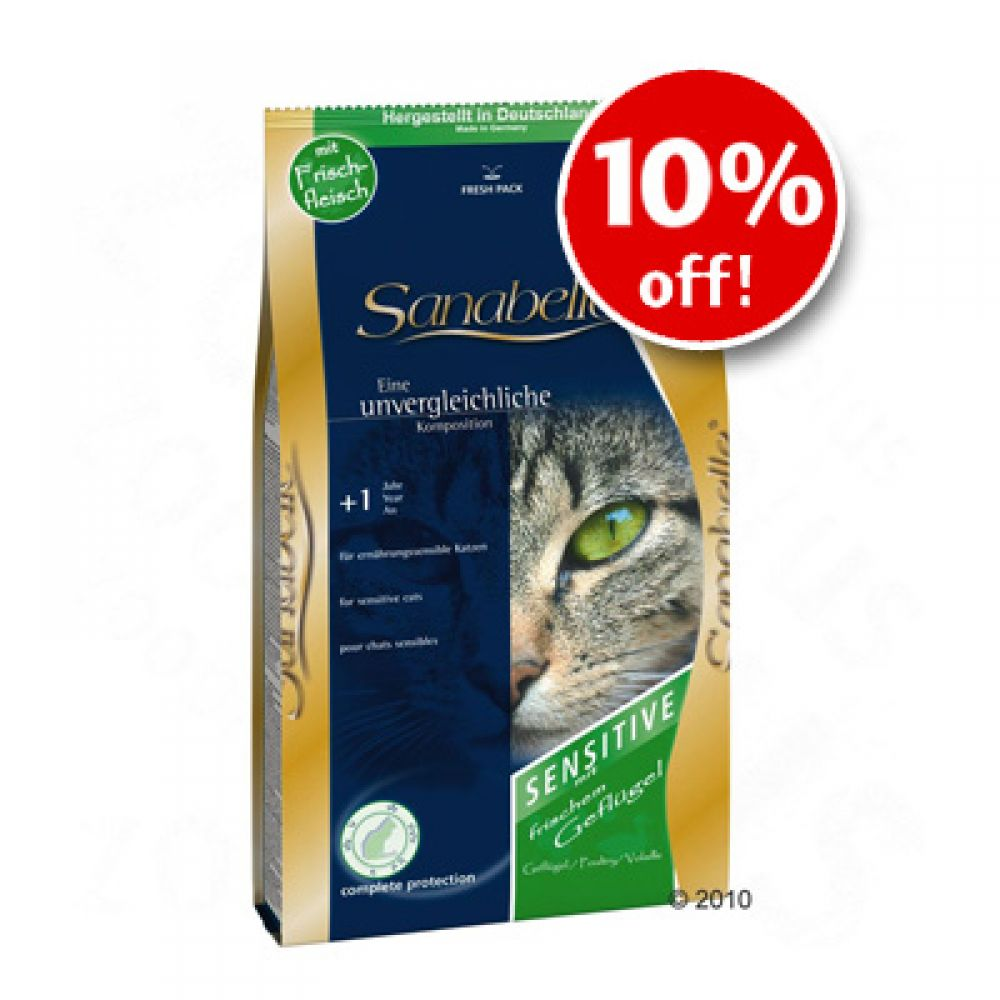 Sanabelle offers tasty nutrition adjusted to each phase of your cat's life - very savoury light rich in poultry meal balanced with all essential vitamins nutrients and dietary fibres