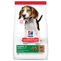 Hill's Science Plan Puppy <1 Medium met Lam & Rijst