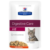 Hill's Prescription Diet Feline I/D Digestive Care met Kip Kattenvoer