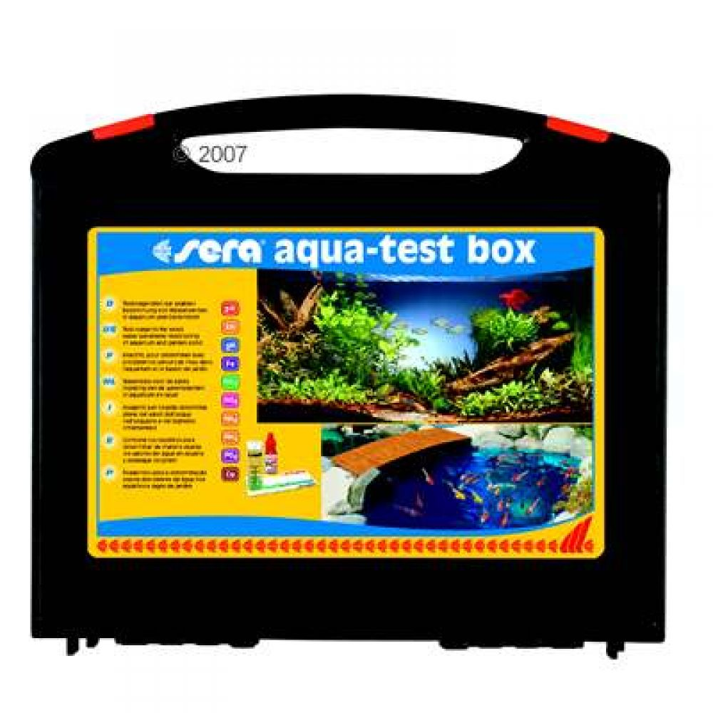 This professional kit consists of nine different water tests for the serious aquarium or pond owner