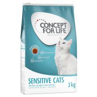 Concept for Life Sensitive Cats Kattenvoer