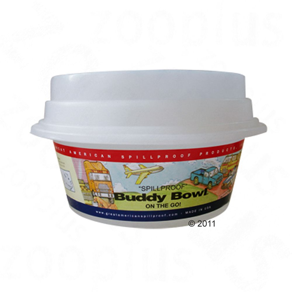 The Dog Water Bowl Buddy is a handy accessory for trips and travels in the car