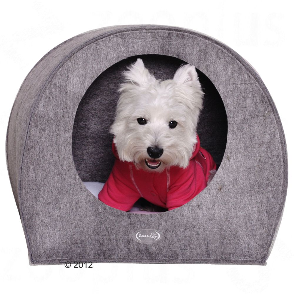 Dog Den Felti is the ideal dog bed for anxious and nervous dogs