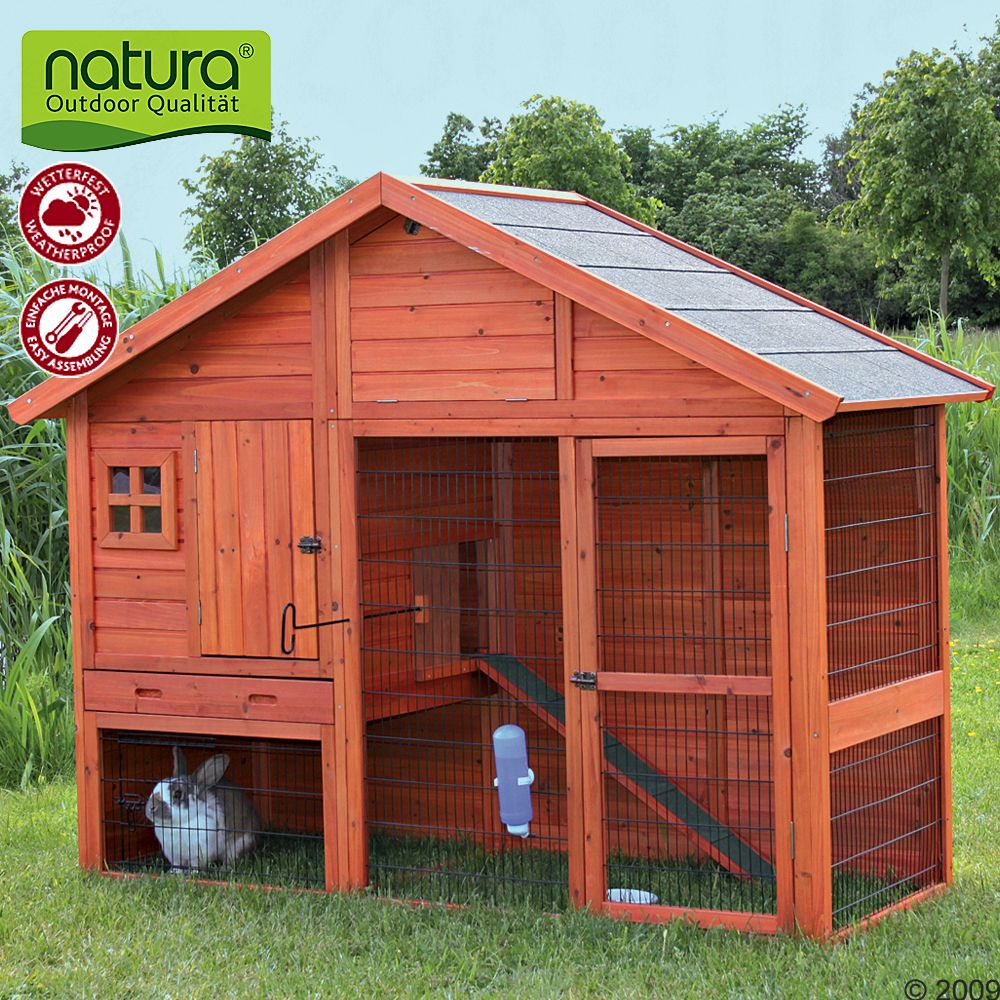 The Pet Hutch Trixie Natura Luxury is a true luxury home for your small pets