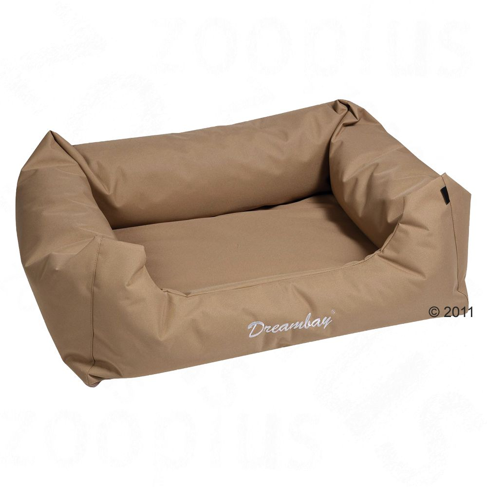 No matter whether indoors or outdoors your dog will be comfy and relaxed in this robust dog bed