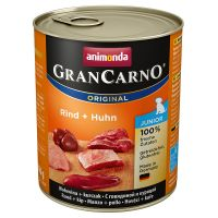 Animonda GranCarno Original Junior. 6 x 800 g