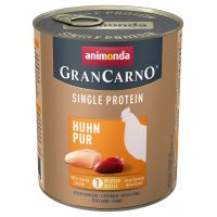 Animonda GranCarno Adult Single Protein, 6 x 800 g