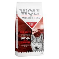 Wolf of Wilderness Soft High Valley bœuf pour chien