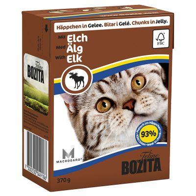 Bozita Bouchées en gelée 6 x 370g