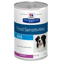 Hill's Prescription Diet d/d Food Sensitivities latas para cães