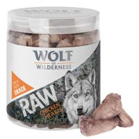 Wolf of Wilderness - RAW liofilizowane przysmaki premium