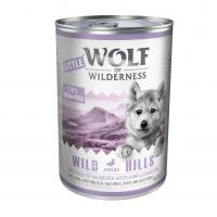 Little Wolf of Wilderness Junior 6 x 400 g
