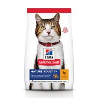 Hill's Mature Adult con pollo pienso para gatos