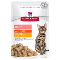 Hill's Adult Light para gatos