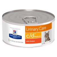 Hill's Prescription Diet c/d Multicare Urinary Care poulet pour chat
