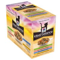 Hill's Ideal Balance Feline Adult Pouches 12 x 85g
