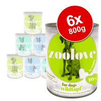 zoolove Wet Dog Food Mixed Pack