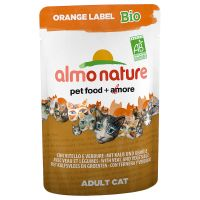 Almo Nature Orange Label Bio Pouches 6 x 70 g