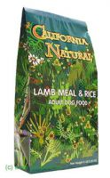 California Natural Dog Adult Lamm + Reis